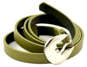 ceinture-cuir-femme-fine-verte-1