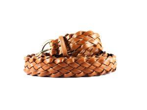 ceinture-cuir-tressé-homme-marron-1