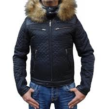 veste-cuir-matelassé