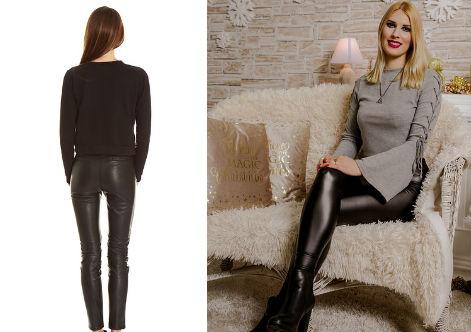 Comment porter un pantalon en cuir femme ?